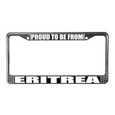 Eritrea License Plate Frame