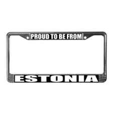 Estonia License Plate Frame