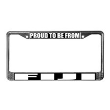 Fiji License Plate Frame