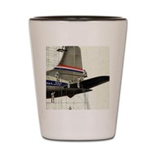 Vintage Airplane Shot Glass
