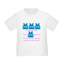 Castle Under Arrest T-Shirt