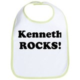 Kenneth Rocks! Bib
