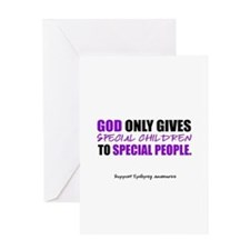 God Only Gives (Epilepsy Awareness) Greeting Cards