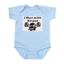 Run with Ninjas Infant Bodysuit
