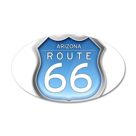 Arizona Route 66 - Blue Wall Decal