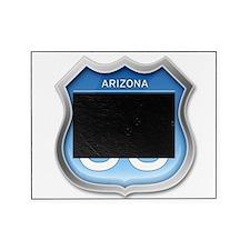 Arizona Route 66 - Blue Picture Frame
