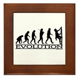 Evolution (Climbing) Framed Tile