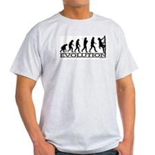 Evolution (Climbing) Ash Grey T-Shirt