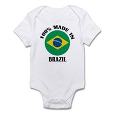 100% Made In Brazil Infant Bodysuit