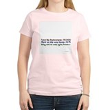 HipReplace Women's Pink T-Shirt