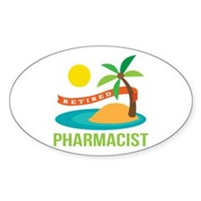 Retired Pharmacist Gift Decal