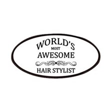 World's Most Awesome Hair Stylist Patches