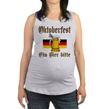 ein beer.png Maternity Tank Top