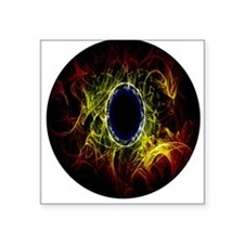 "Eye Square Sticker 3"" x 3"""