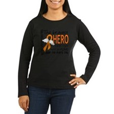 Bravest Hero I Knew Kidney Cancer Long Sleeve T-Sh