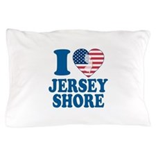 I love jersey shore Pillow Case