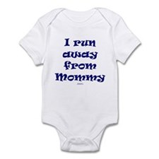 Run away from Mommy Infant Bodysuit