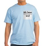 Math Teachers Rule! Funny Ash Grey T-Shirt