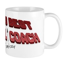 Worlds Best Fantasy Baseball Coach Mugs