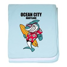 Ocean City, Maryland baby blanket