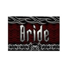 Metal Bride Rectangle Magnet