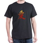 Kanji Love Black Japanese T-Shirt - Kanji T-Shirt