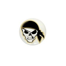 Yarr! Pirate Mini Button