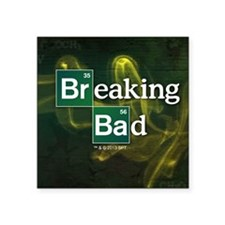 "Breaking Bad Logo Square Sticker 3"" x 3"""
