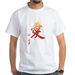 Kanji Love White Japanese T-Shirt