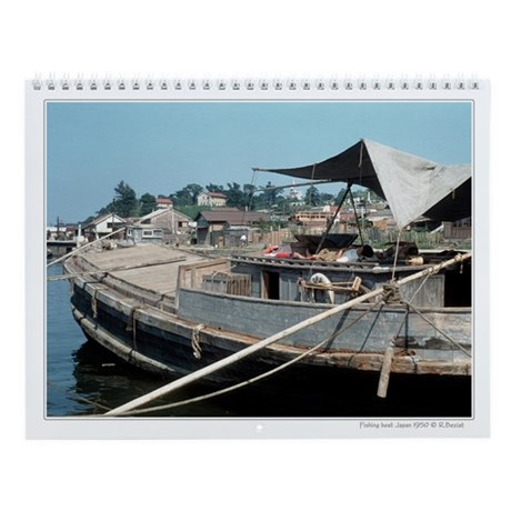 Scenic Japanese 1950 photographs Wall Calendar
