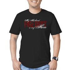 My Husband My Hero - Fire Dep T-Shirt