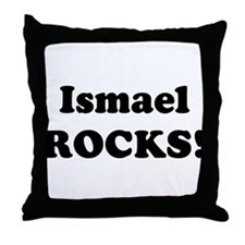 Ismael Rocks! Throw Pillow