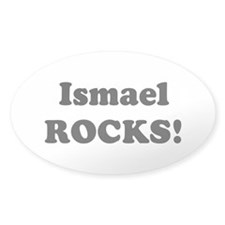 Ismael Rocks! Oval Decal