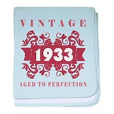 1933 Vintage (old-fashioned) baby blanket