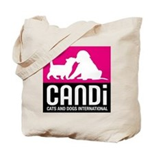 CANDi Cats & Dogs International Logo Tote Bag
