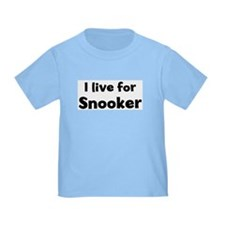 I Live for Snooker T
