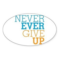 Never Ever Give Up Decal