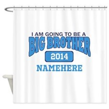 I am Going to be a Big Brother Shower Curtain