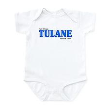 Tulane Infant Bodysuit