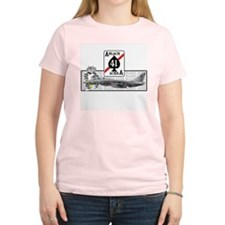 VF-41 Black Aces Women's Pink T-Shirt