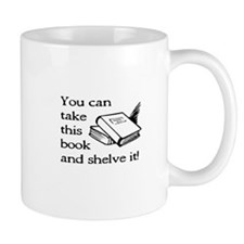 Funny Book shelves Mug