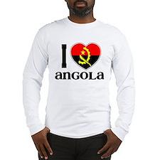 I love Angola Long Sleeve T-Shirt
