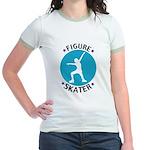 Figure Skating Tee Jr. Ringer T-Shirt
