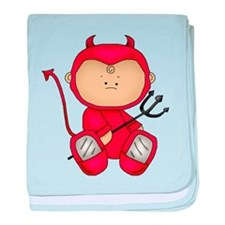 Red Baby Devil Cutie baby blanket