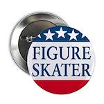 Figure Skating Button USA