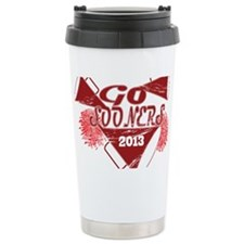 Go Sooners! Ceramic Travel Mug