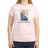 A child is born Women's Pink T-Shirt