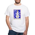 1989 Bulgaria Holiday Snowman Postage Stamp T-Shir