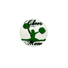 CHEER MOM [1 green] Mini Button (100 pack)