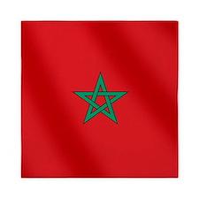 Flag of Morocco Queen Duvet